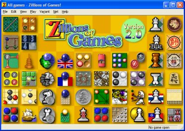 Zillions of Games 2 - Universal board game and puzzle program.